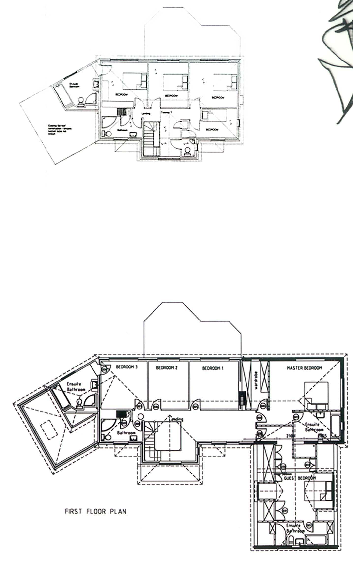 Oxshot House floor plan - Made In Place Homes