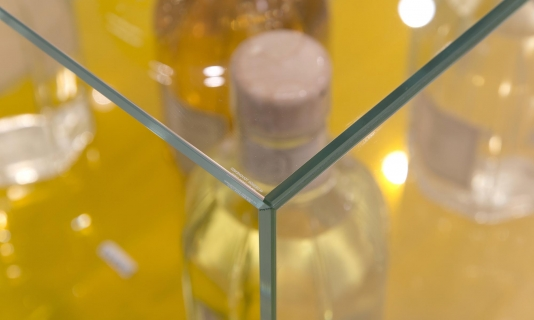Mitred glass joint, The Conran Shop, Selfridges, Made In Place